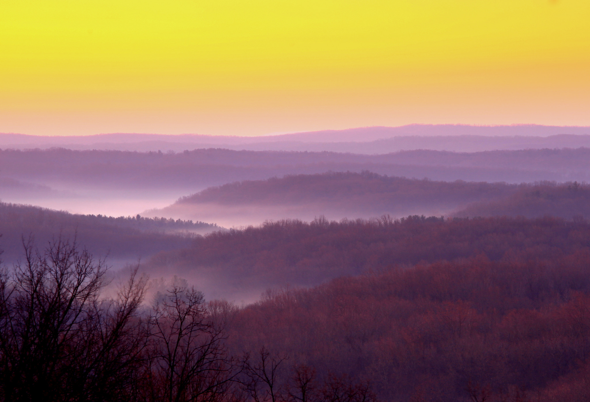 Photograph Brown County Sunrise by Dave Dow on 500px