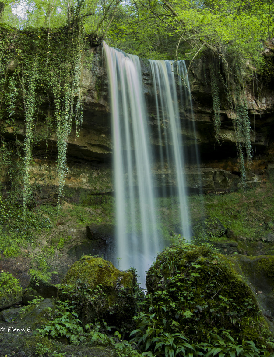 Photograph Waterfall  by Pierre Bonnel on 500px