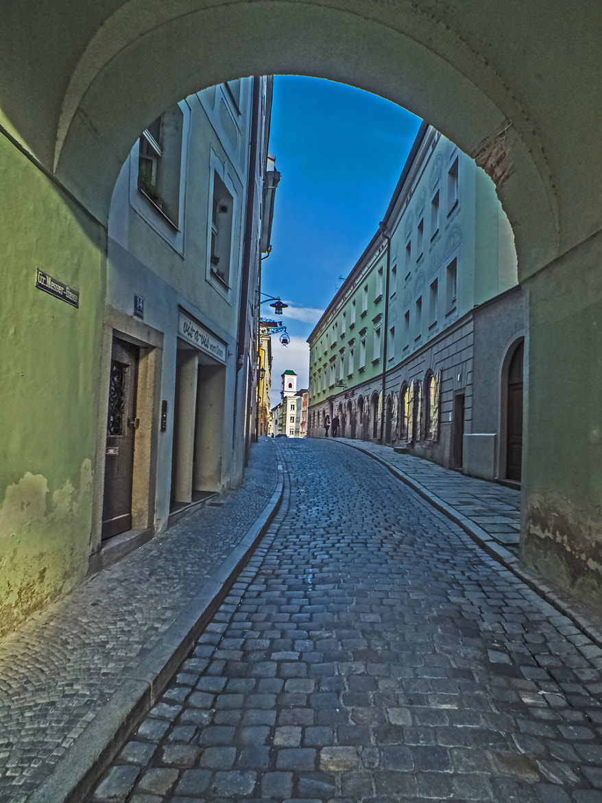Photograph Alley in Passau (Germany) by DHα Photography on 500px