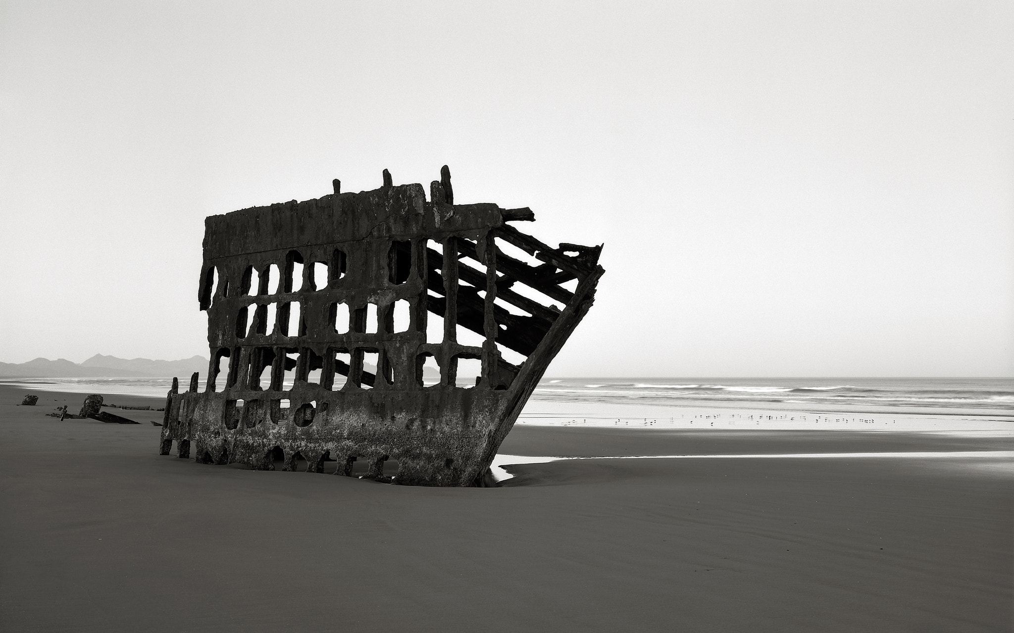 Photograph The Wreck of the Peter Iredale, Oregon Coast by Austin Granger on 500px