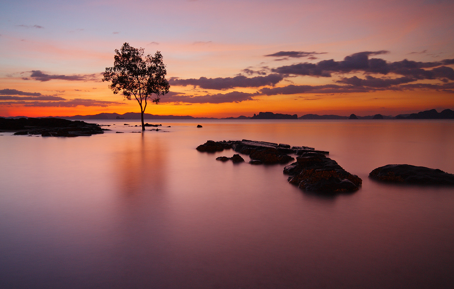Photograph Sunset@Krabi by wichean krabi on 500px