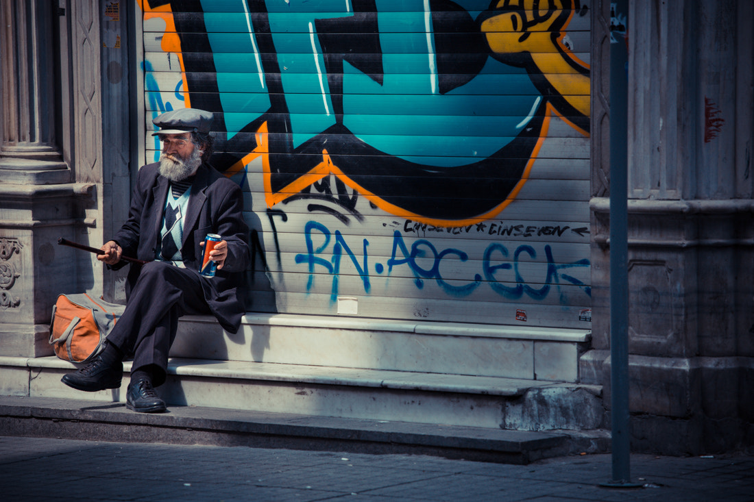 Photograph The lonely man by Philippe CAP on 500px