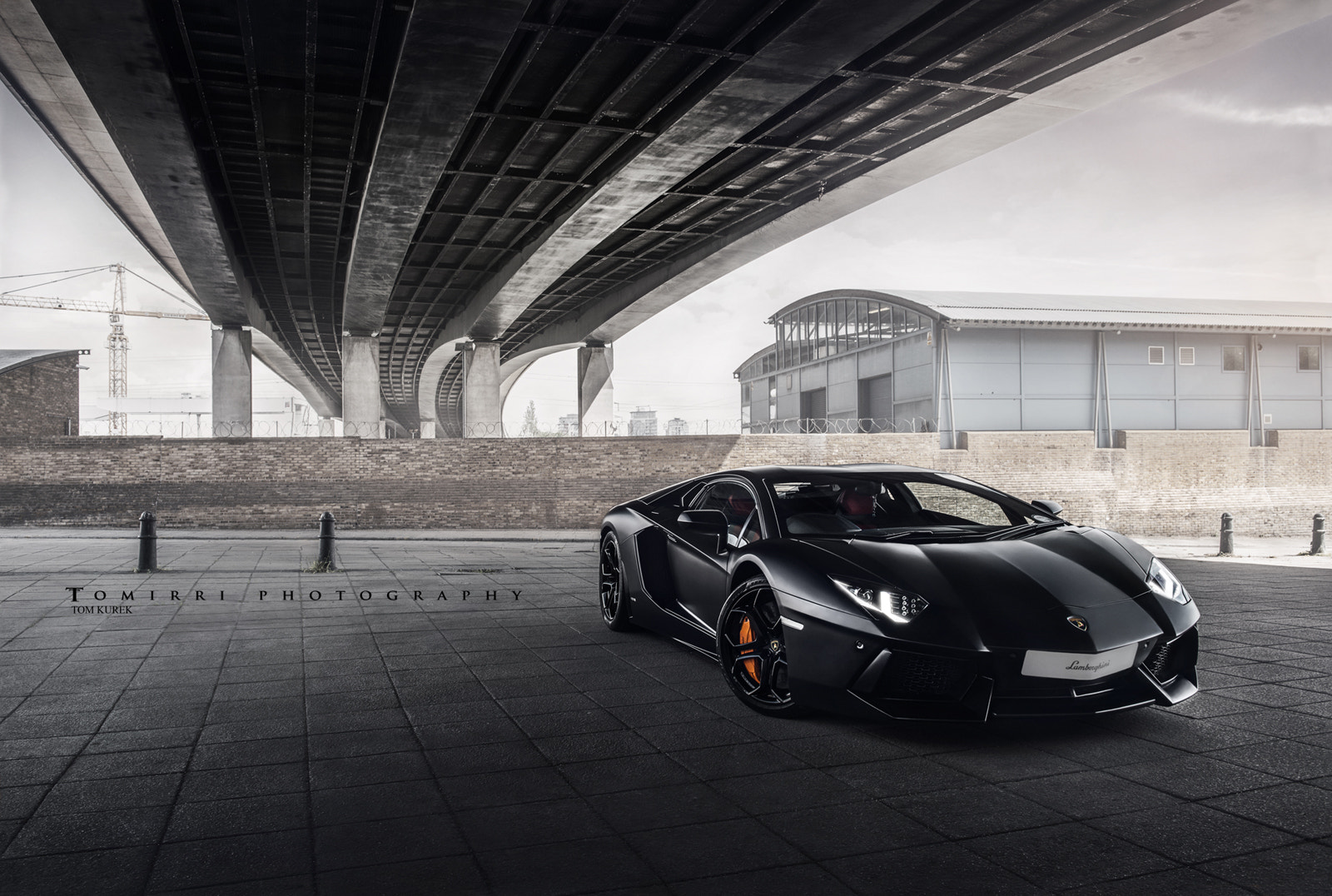 Photograph Matte Black. Aventador. Lamborghini. by TomirriPhotography  on 500px