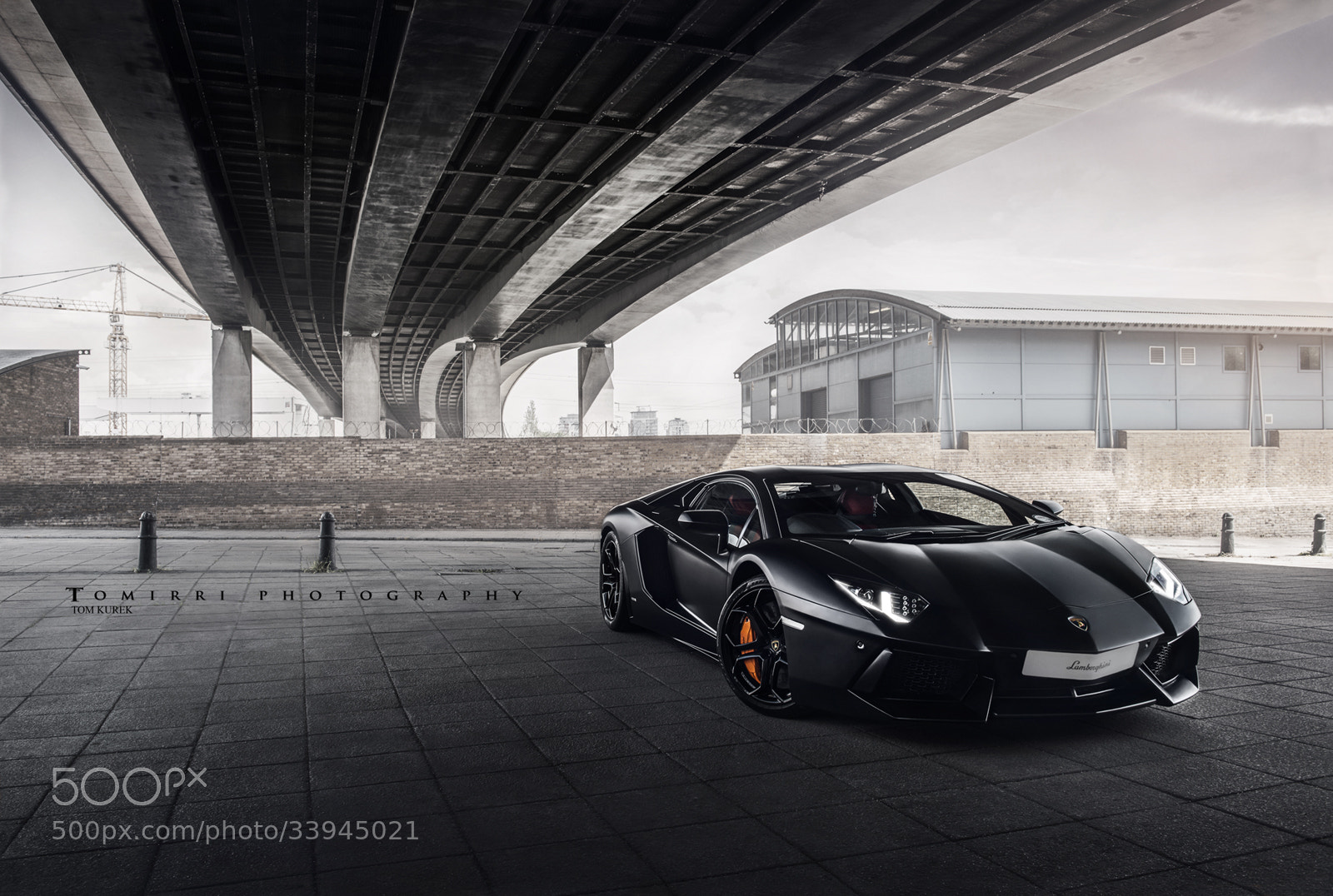 Photograph Matte Black. Aventador. Lamborghini. by Tomirri photography on 500px