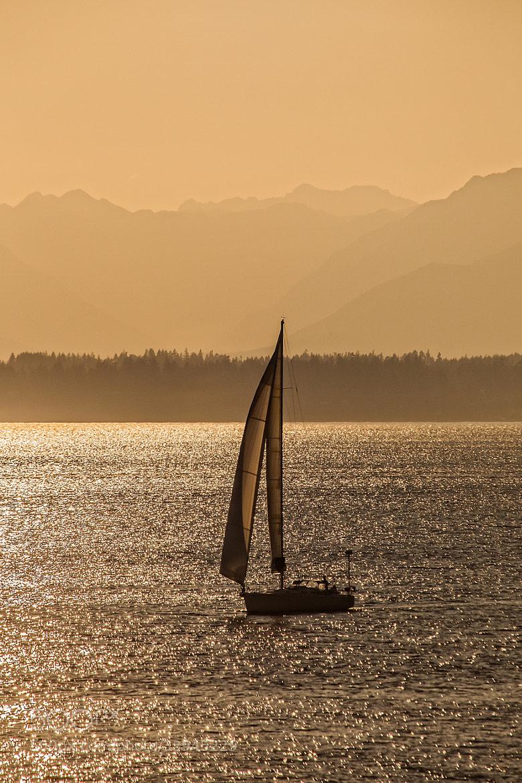 Photograph Sailboat at Sea by Tabitha Hawk on 500px