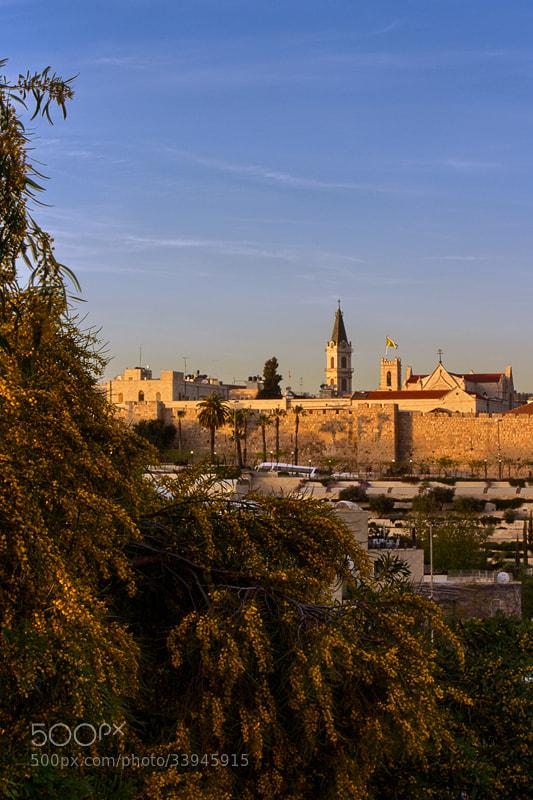 Photograph Jerusalem Sunset by Yaniv Nissim on 500px