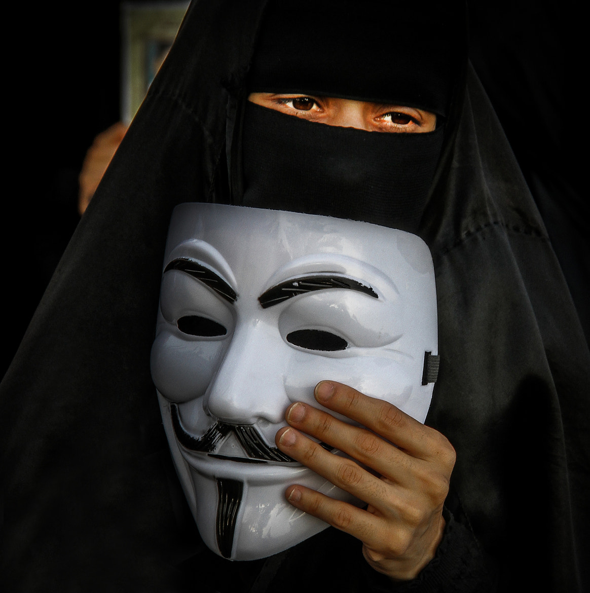 Photograph The mask was removed by Hussain Albahrani on 500px