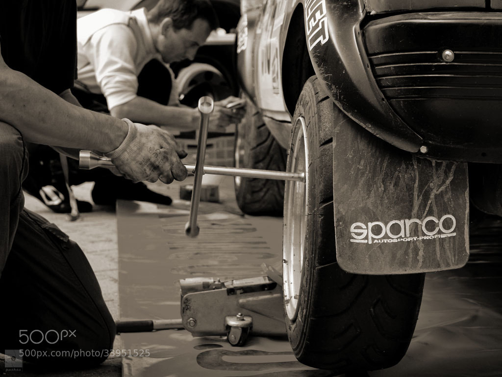 Photograph Finishing touches before SS7 by János Puskás on 500px