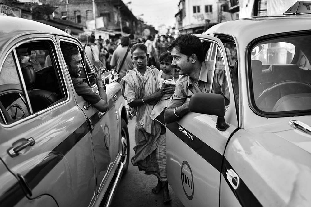 Photograph Two Taxi Drivers by Amit Maitra on 500px