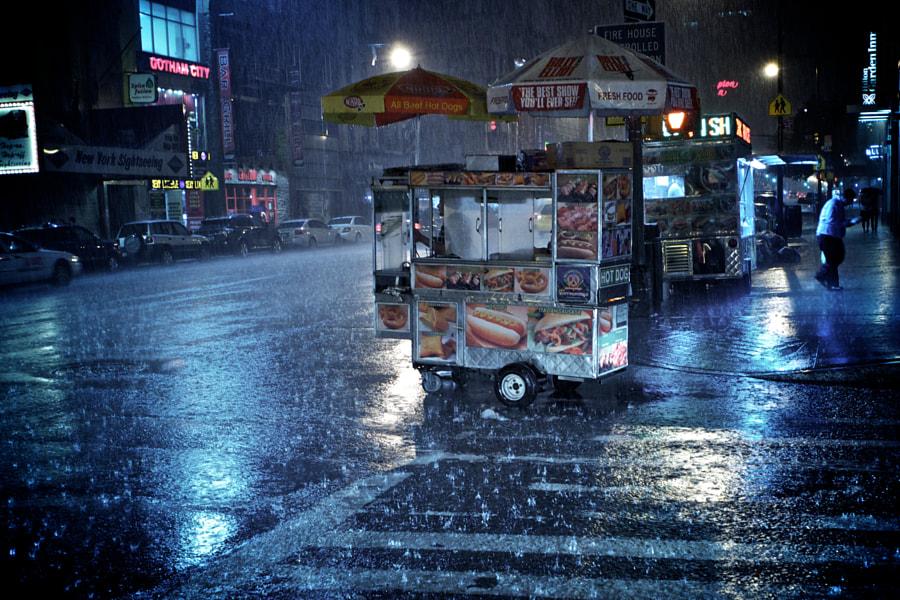 Rainy NYC Night