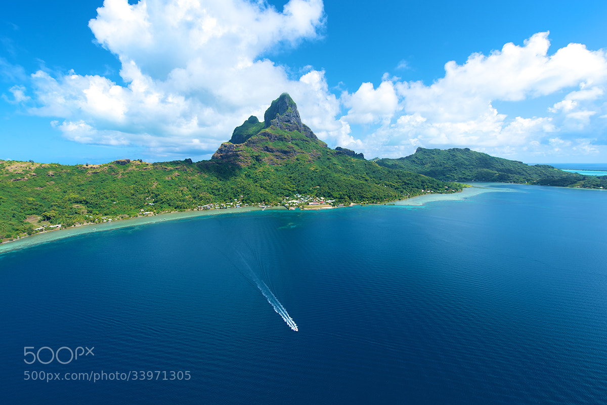 Photograph Mount Otemanu From Above by David Kosmos Smith on 500px