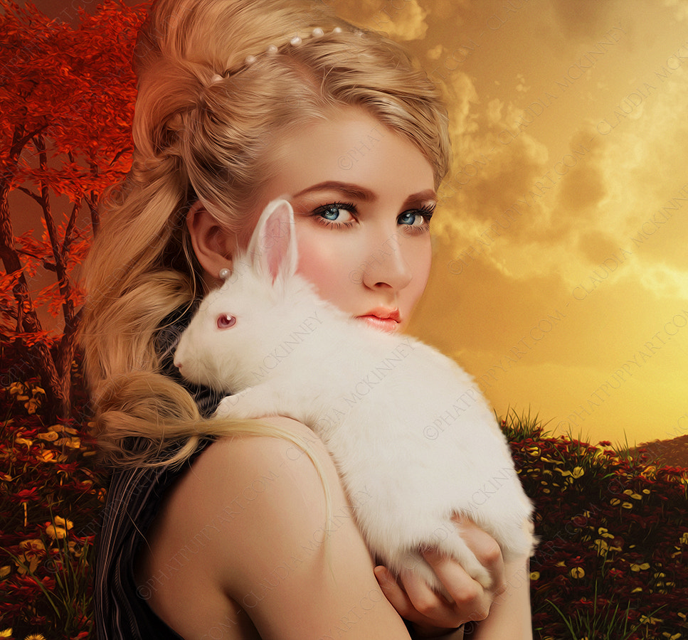 Photograph The Rabbit Prince by Phatpuppy Art on 500px