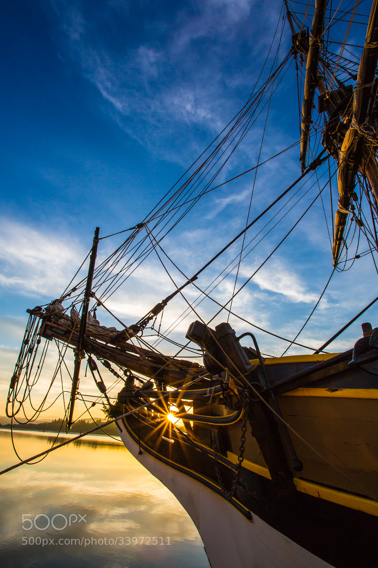 Photograph Sailboat Sunrise by Robert Bynum on 500px
