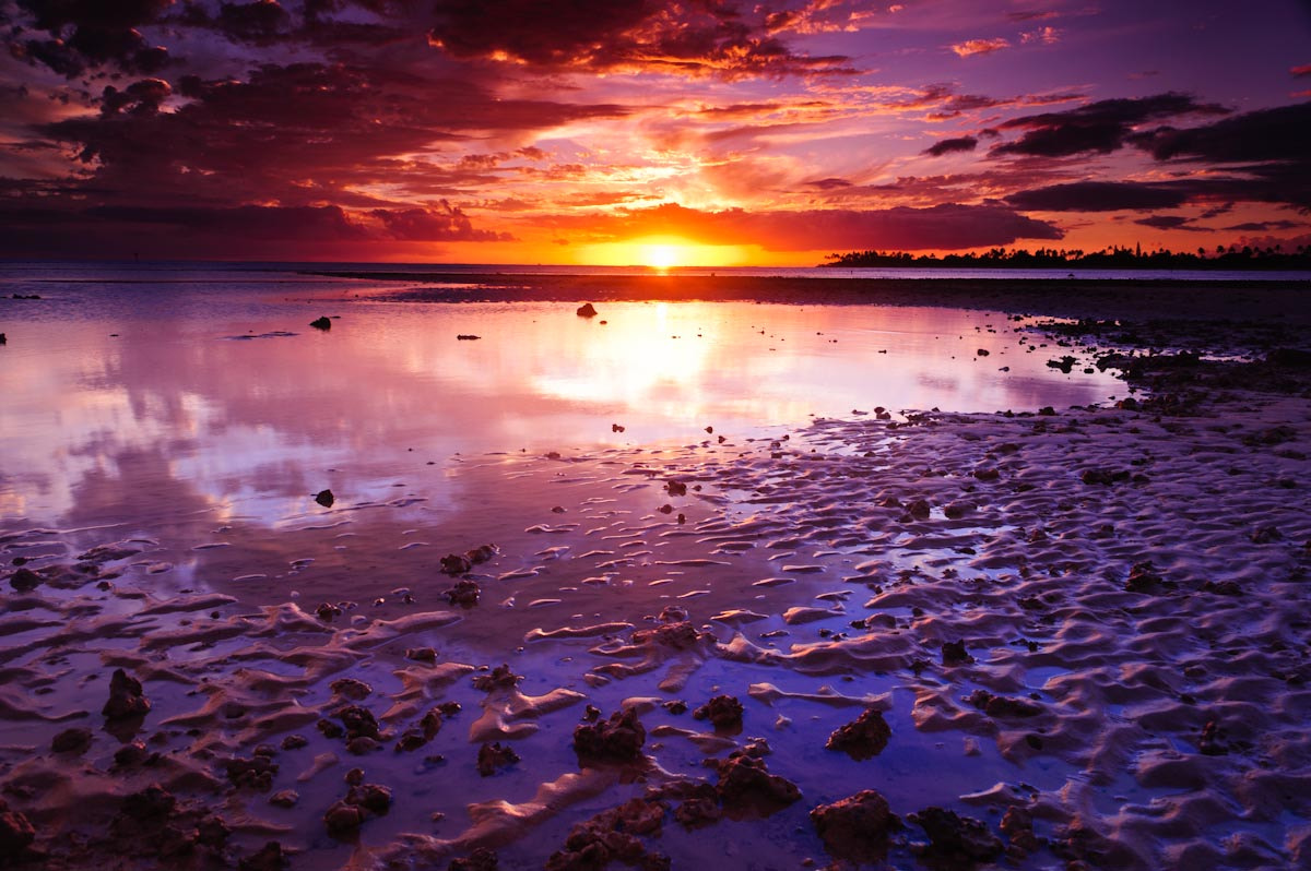 Photograph Sunset on the flats by Marshall Humble on 500px