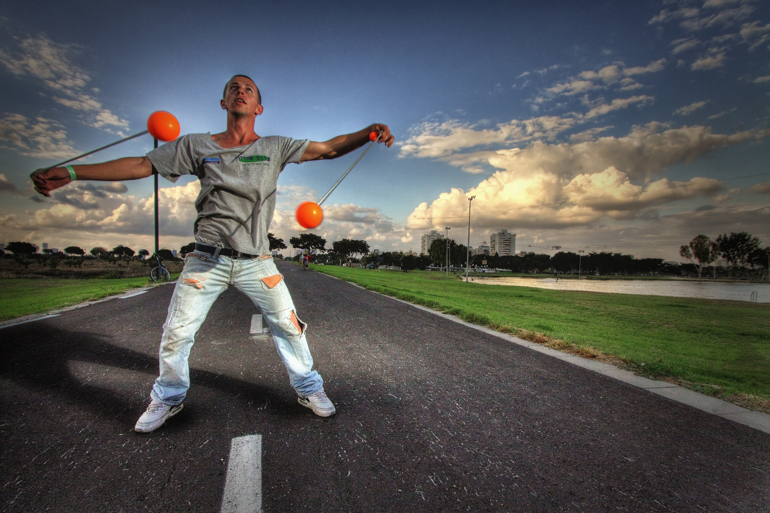 Photograph Juggling At The Park III by Noam Mymon on 500px