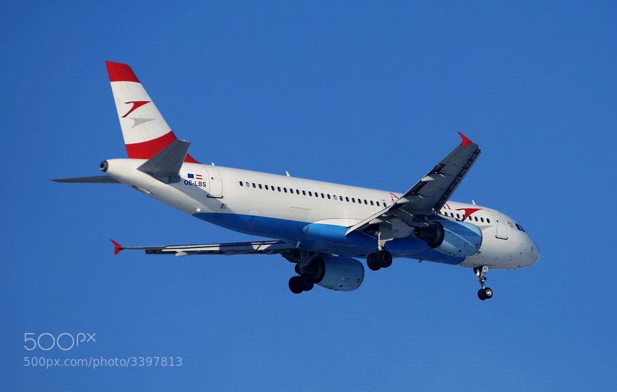 Photograph  Austrian Airlines Airbus A320-214 by Adrian Kraszewski on 500px