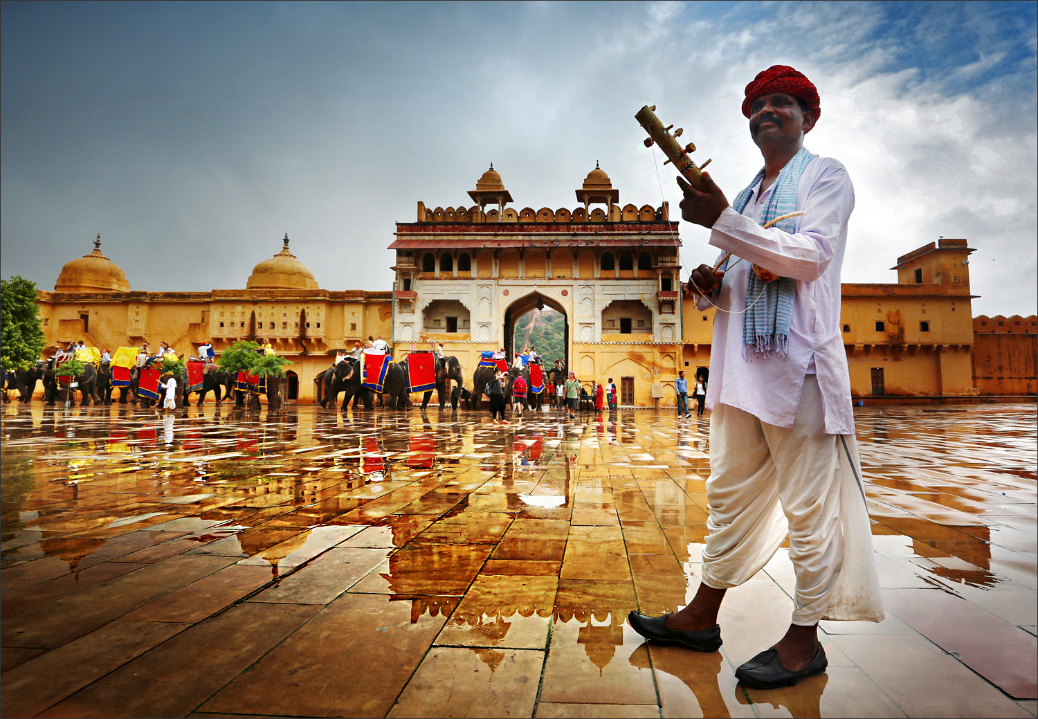 Photograph Rajasthan busker by Woosra Kim on 500px