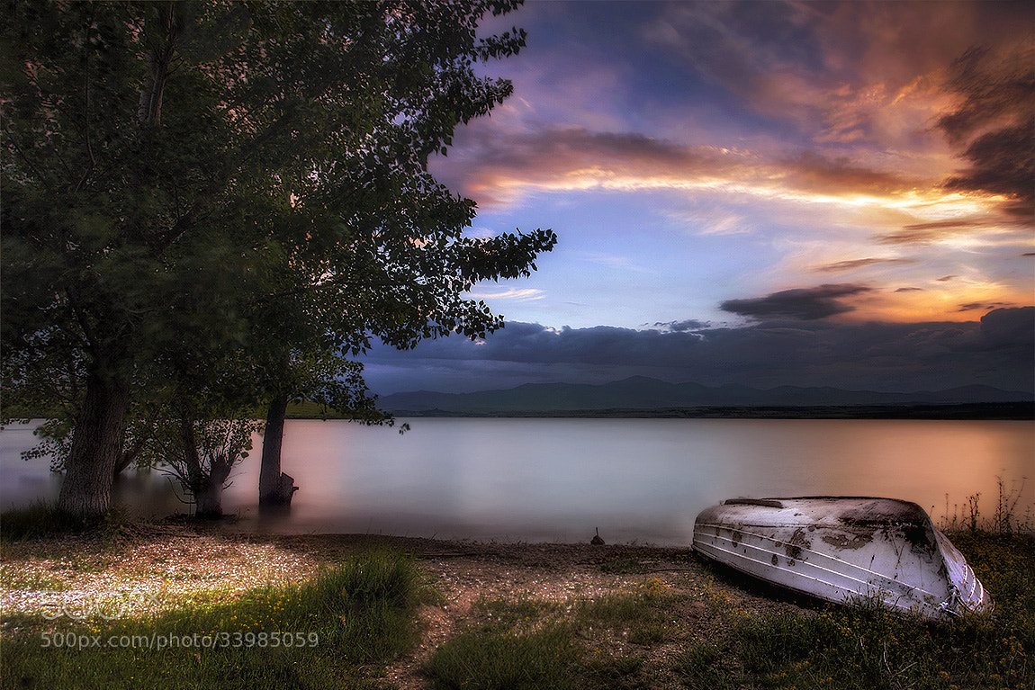 Photograph Boat on the river by Christos Lamprianidis on 500px