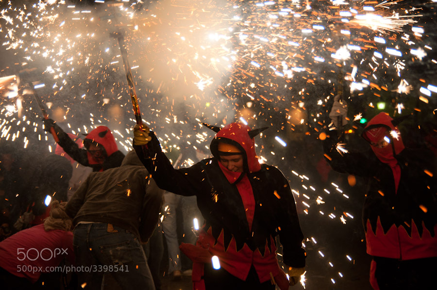 Photograph Correfocs by Pablo Arranz on 500px