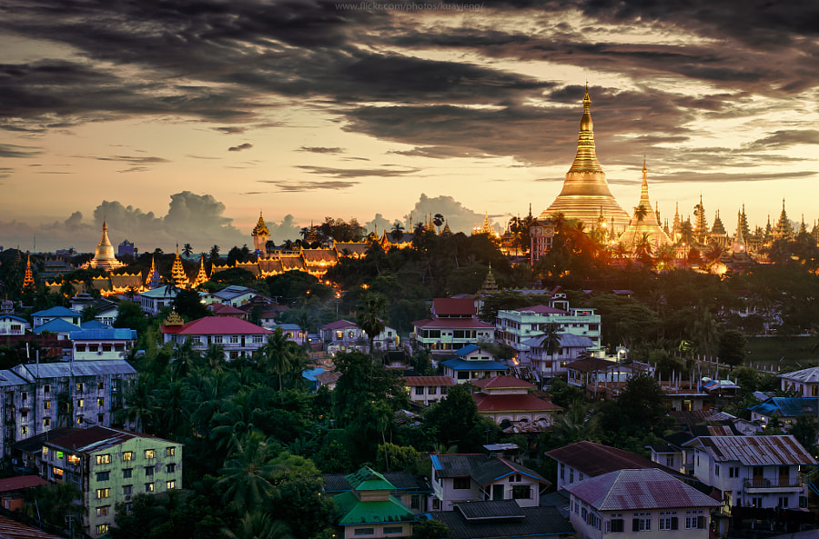 Photograph Shwedagon by jaturong kengwinit on 500px