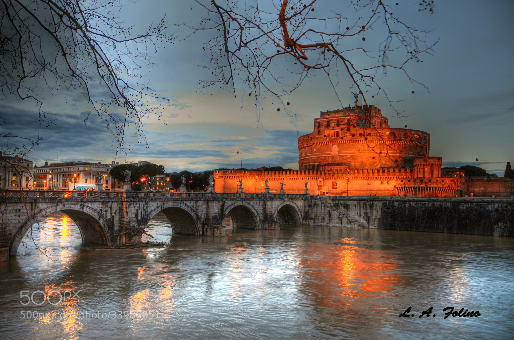 Photograph Castel S. Angelo, Roma by Luca A. Folino on 500px