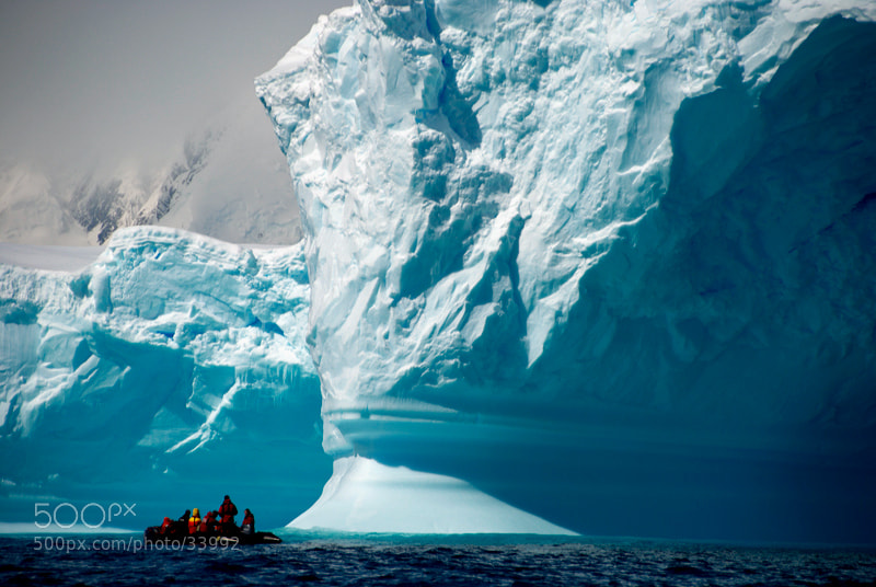 Photograph Zodiac near the iceberg by Yaroslav Nikitin on 500px