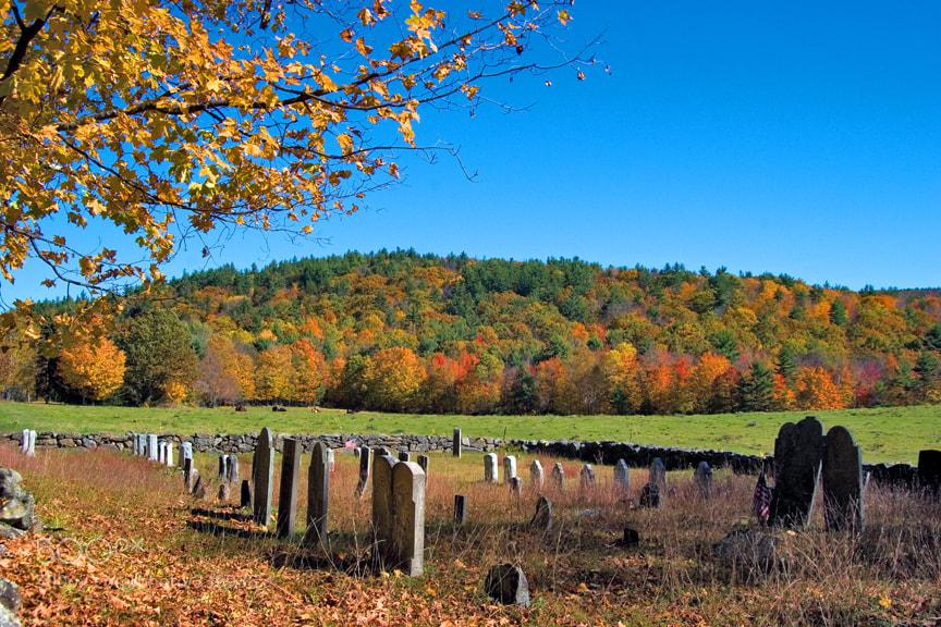 Photograph Autumn Graveyard by Larry Landolfi on 500px