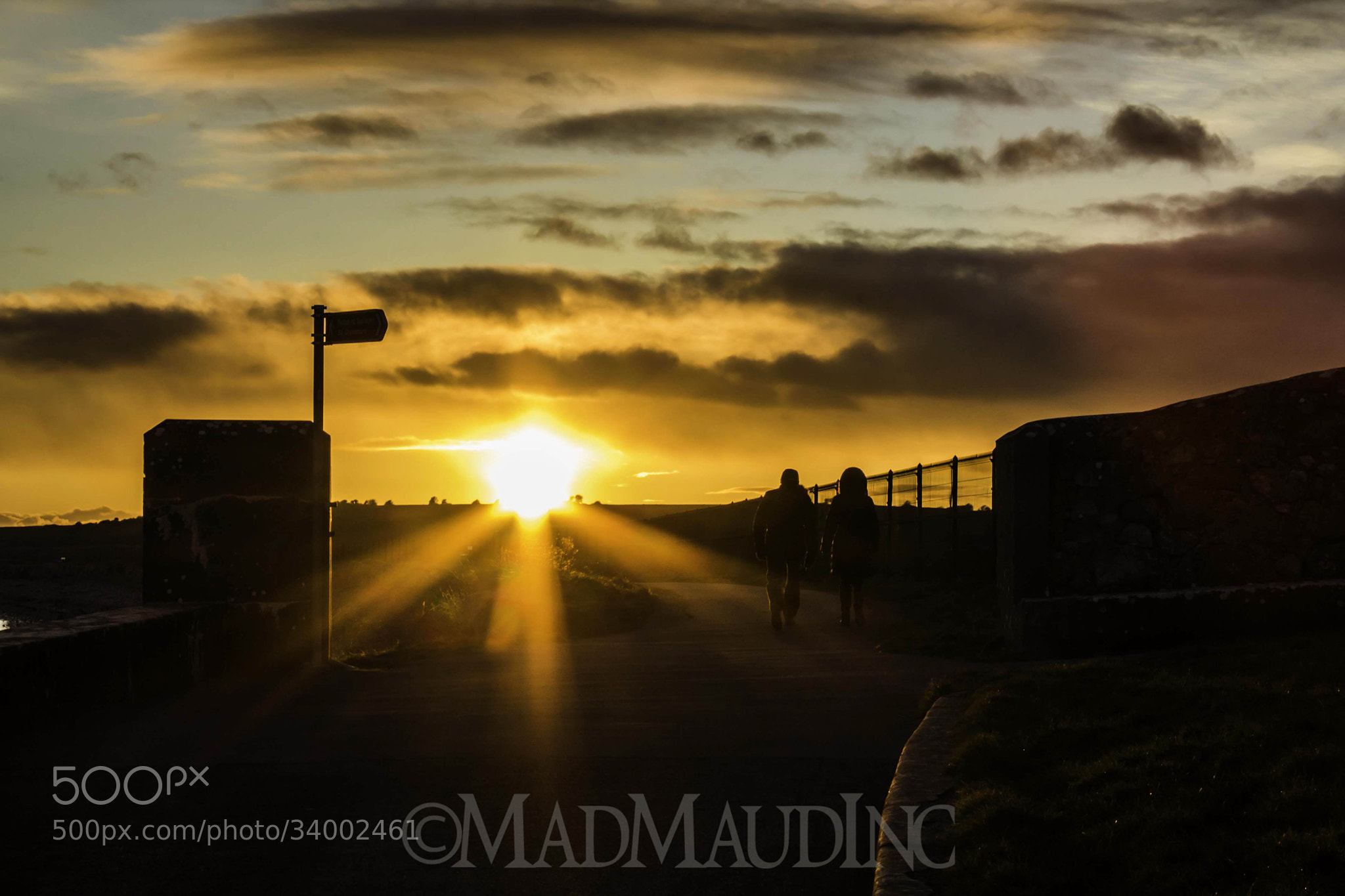 Photograph Sunset Walk by Martin Delaney on 500px