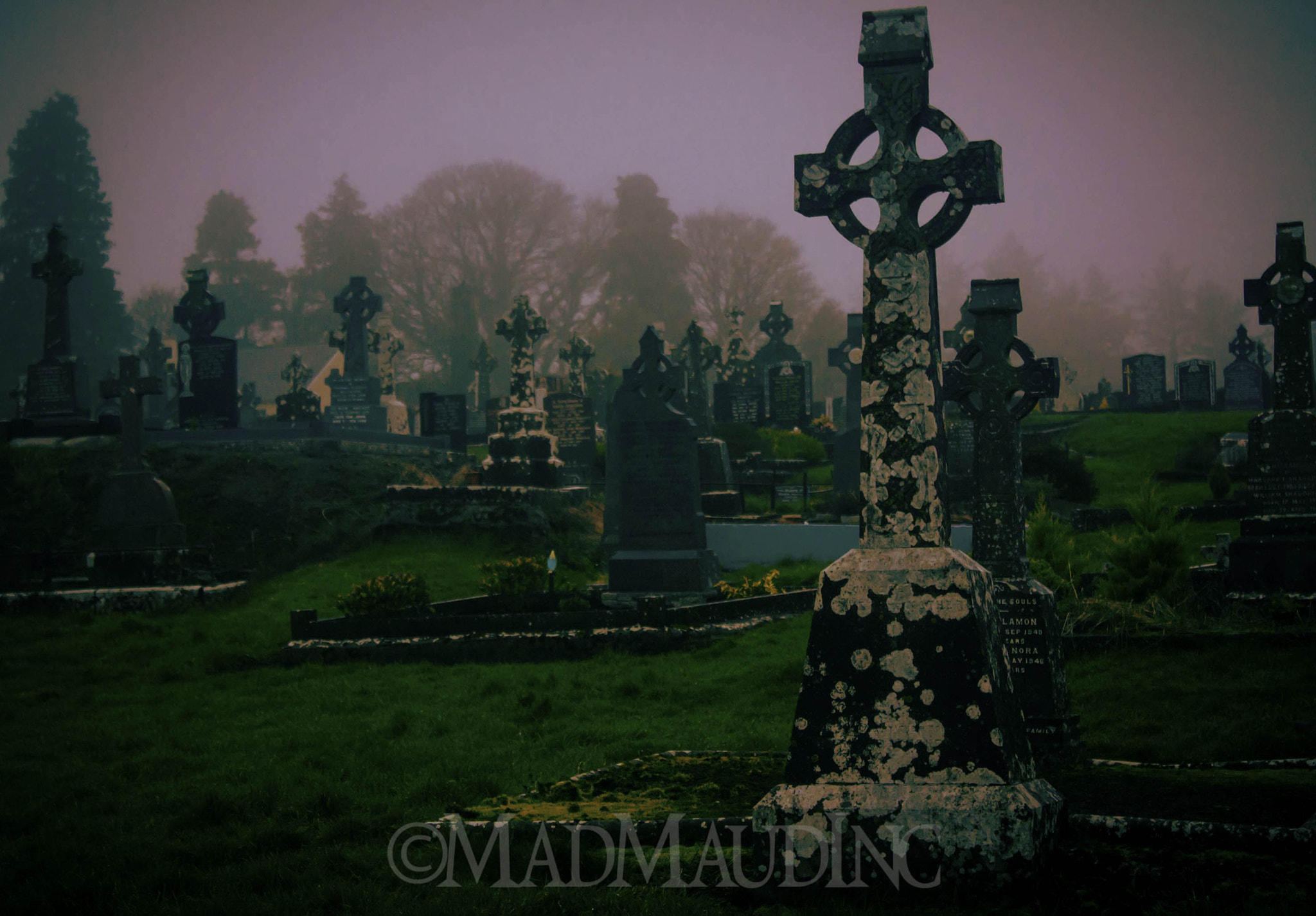 Photograph Eerie Graveyard by Martin Delaney on 500px