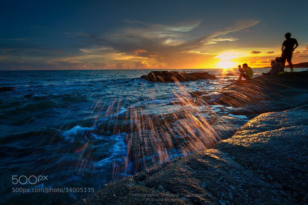 Photograph Sea Scatter by sethapol tiptongdee on 500px