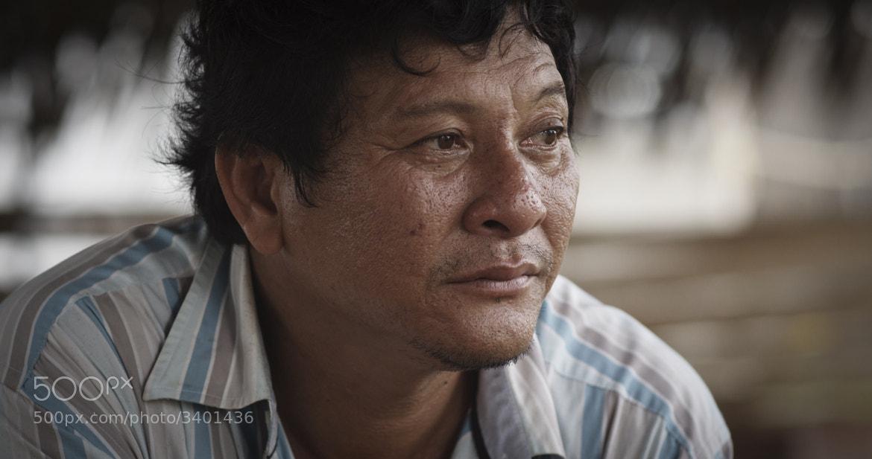 Photograph Uncle Seven Portrait - Red Scarlet X Frame Grab by Tonaci Tran on 500px