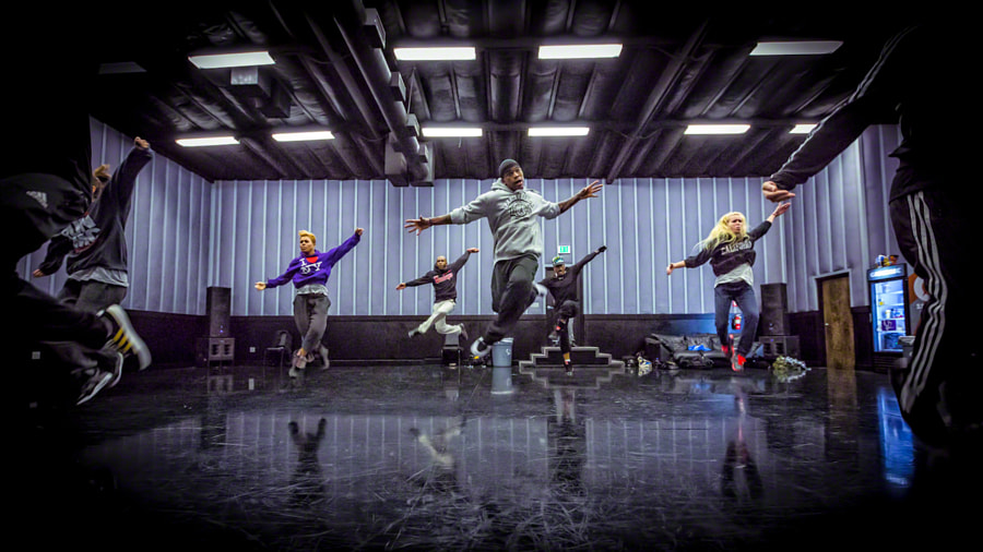 "Photograph Ne-Yo and his Dancers at Rehearsal for ""The Voice"" by Jeff Lombardo on 500px"