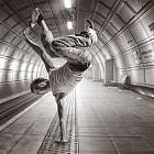 Subway Dancer by Jaka Koren