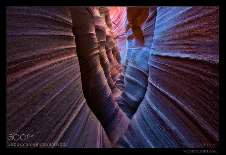 "Photograph ""Spectral Chamber"" (Escalante Wilderness - UT) by Mark Metternich on 500px"