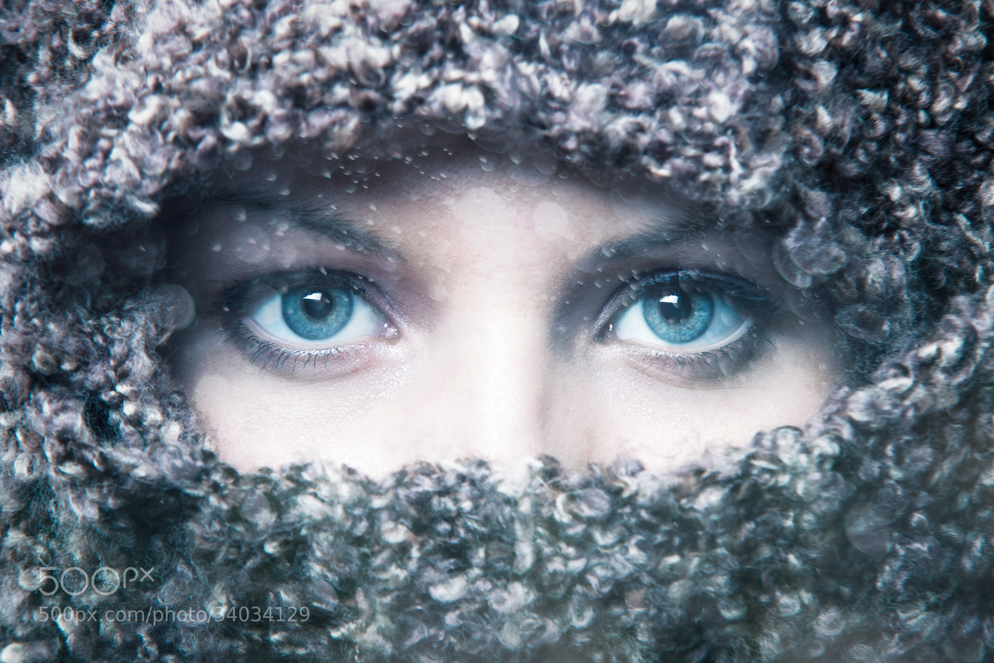 Photograph Winter Eyes. by Kyle Robinson on 500px