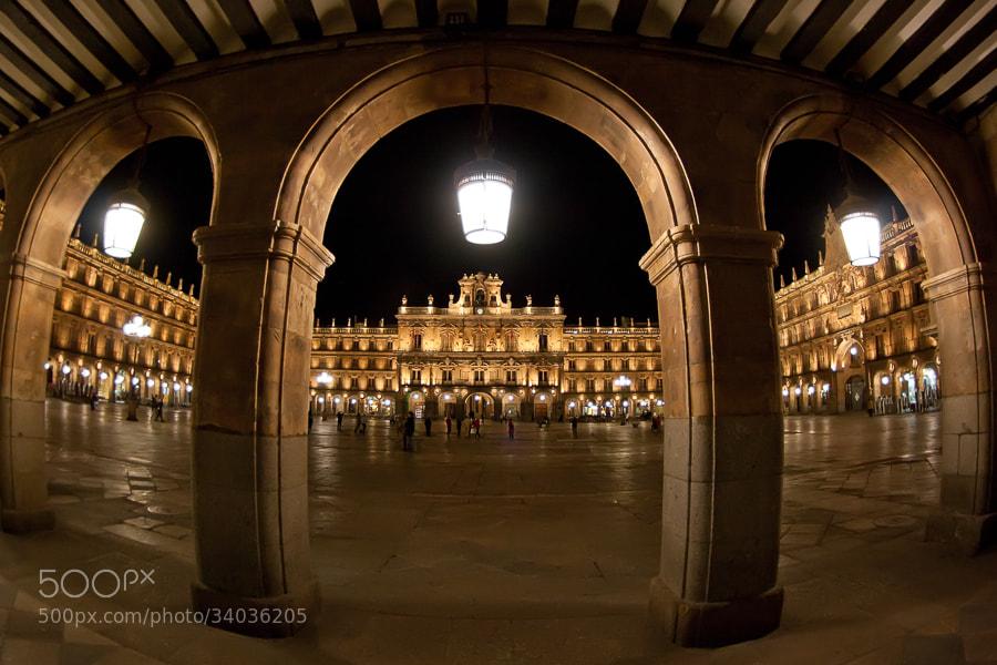 Photograph Plaza Mayor de Salamanca by Jose Agudo on 500px