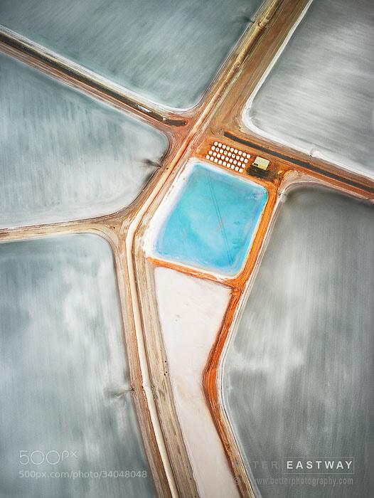 Photograph Salt Mine Shark Bay by Peter Eastway on 500px