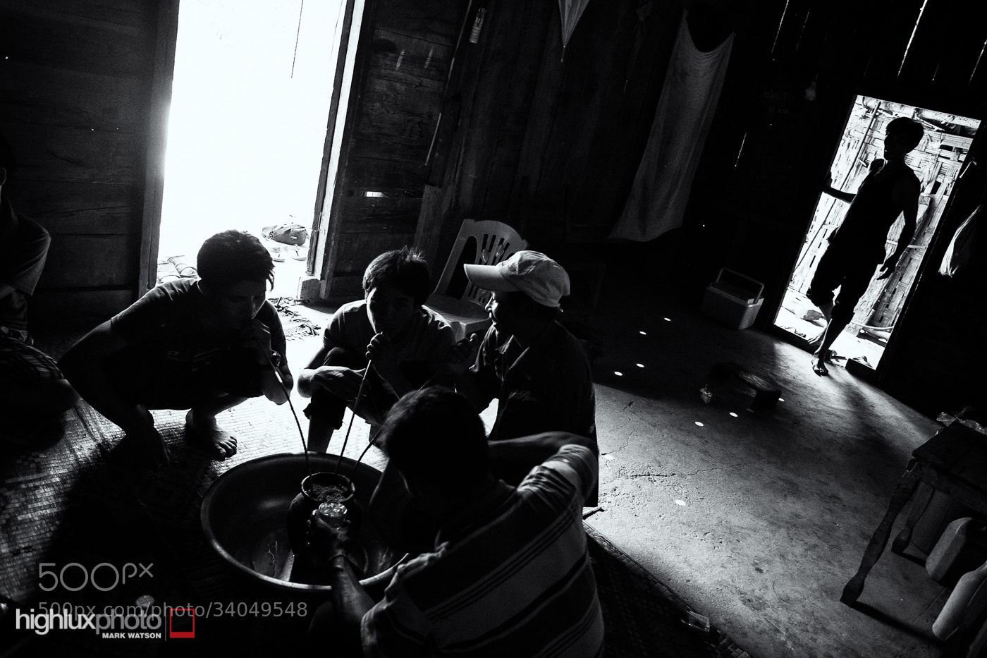 Photograph Hmong Rice Wine, Chief's House by Mark Watson on 500px