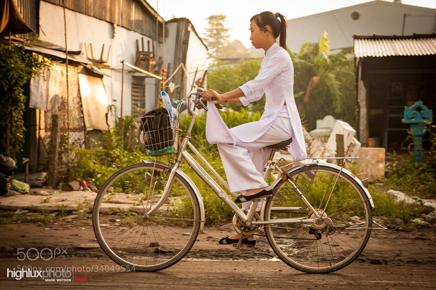 Photograph Ao Dai, Mekong Delta by Mark Watson on 500px