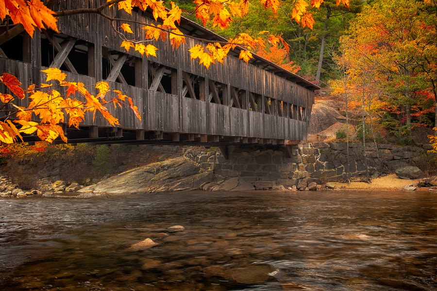 Photograph Albany Covered Bridge by Matt Kloskowski on 500px