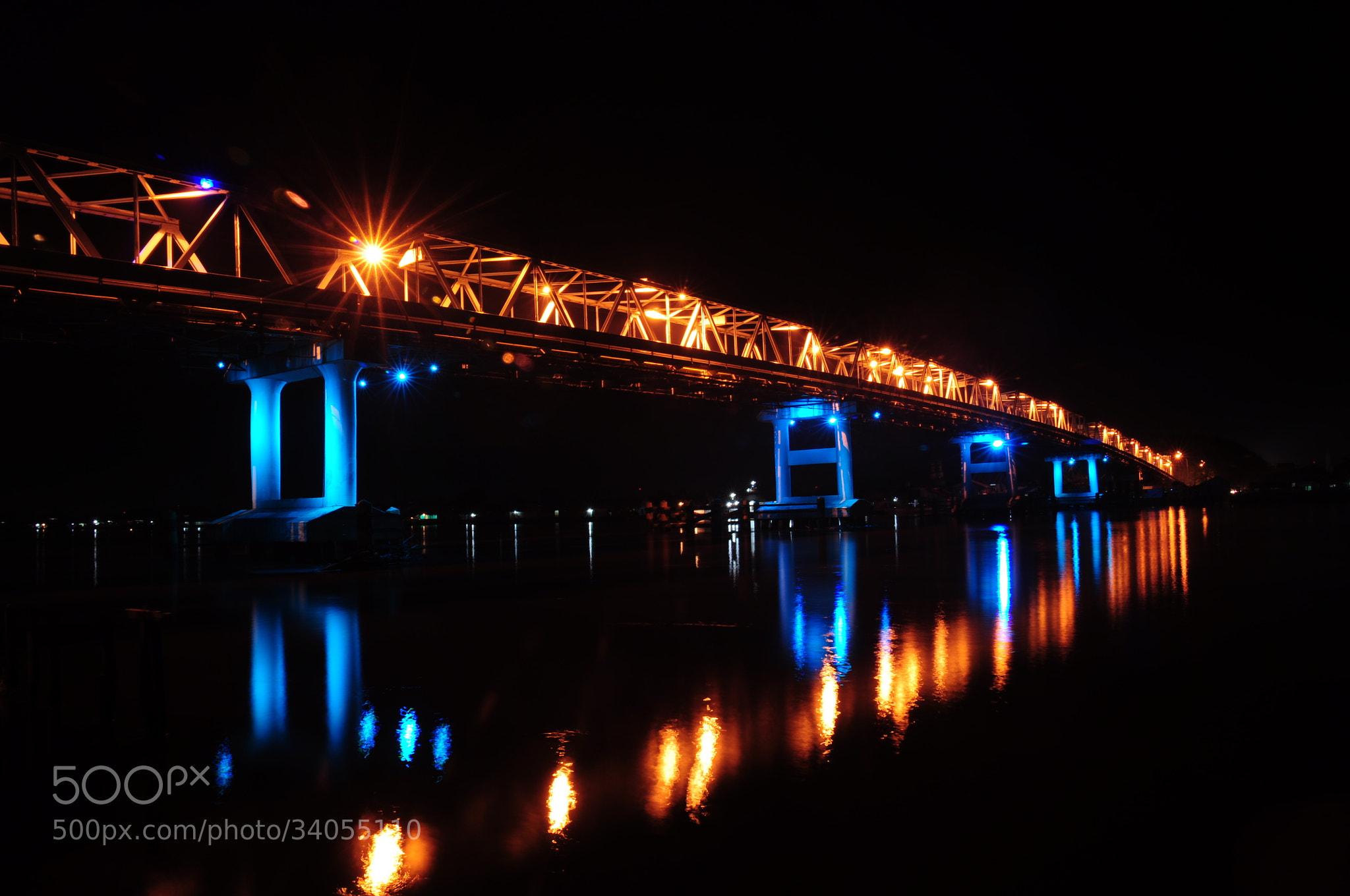 Jembatan Kapuas 1 Kalimantan Barat nyaris Roboh