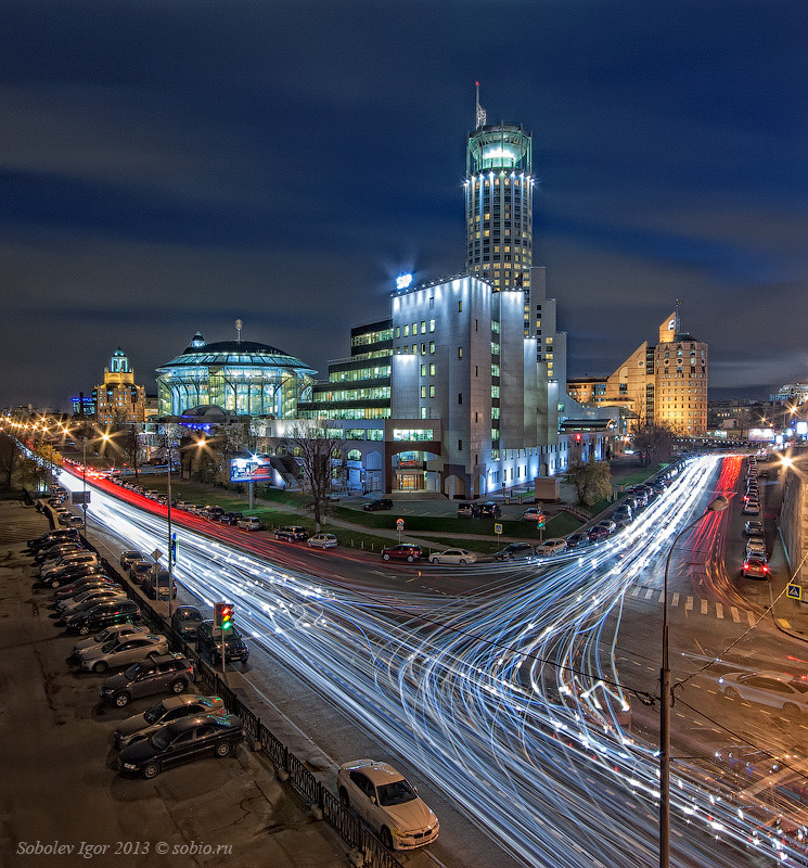 Photograph Moscow traffic by Igor Sobolev on 500px