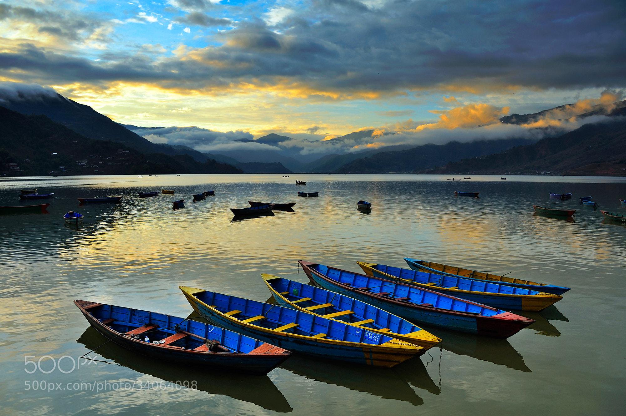 Photograph Fewa lake by Puchong Pannoi on 500px
