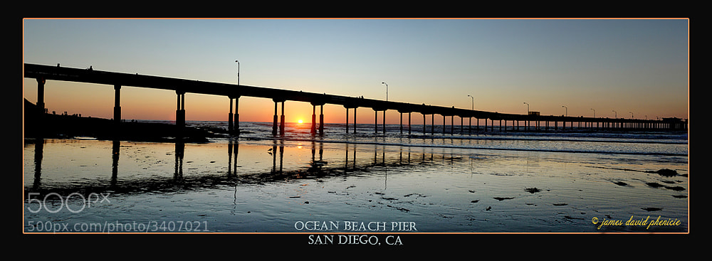 Photograph Ocean Beach Pier by James David Phenicie on 500px