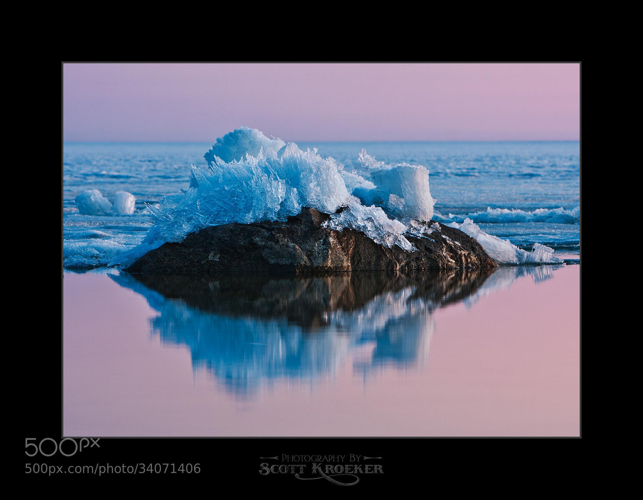 Photograph Lake Ice VS Immovable Rocks II by Scott Kroeker on 500px