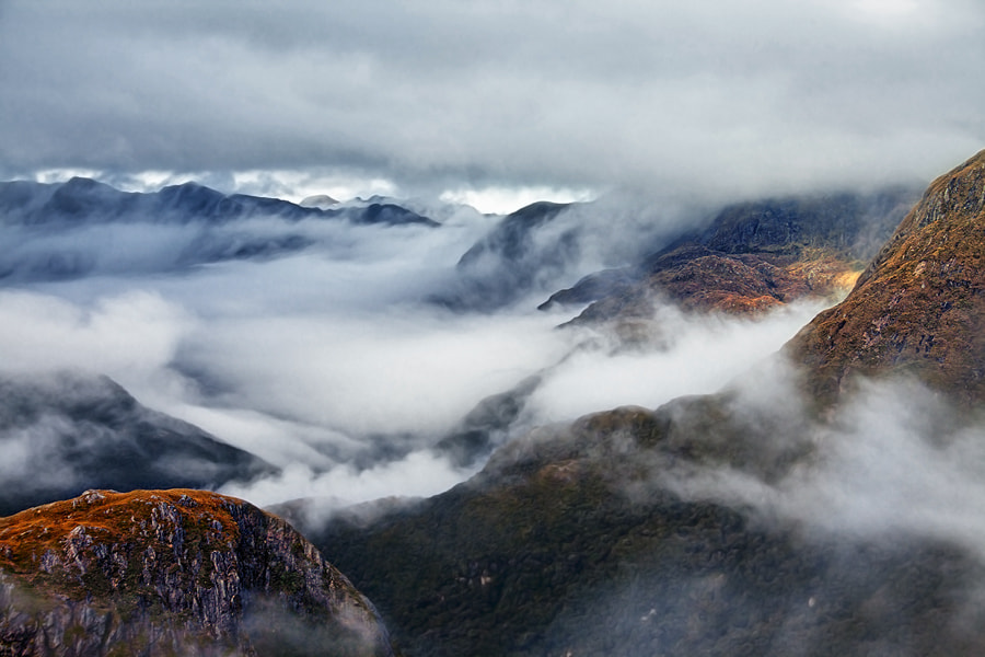 Photograph Flying in the clouds by Sam Dobson on 500px