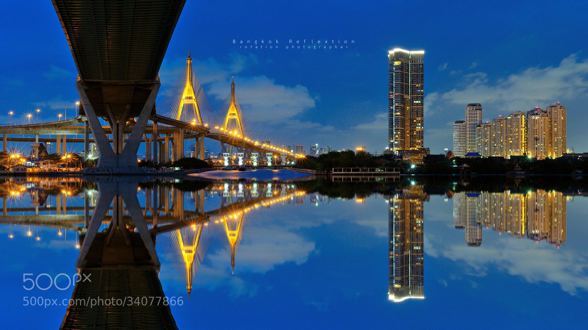 Photograph Bangkok Reflextion by Jirawas Teekayu on 500px