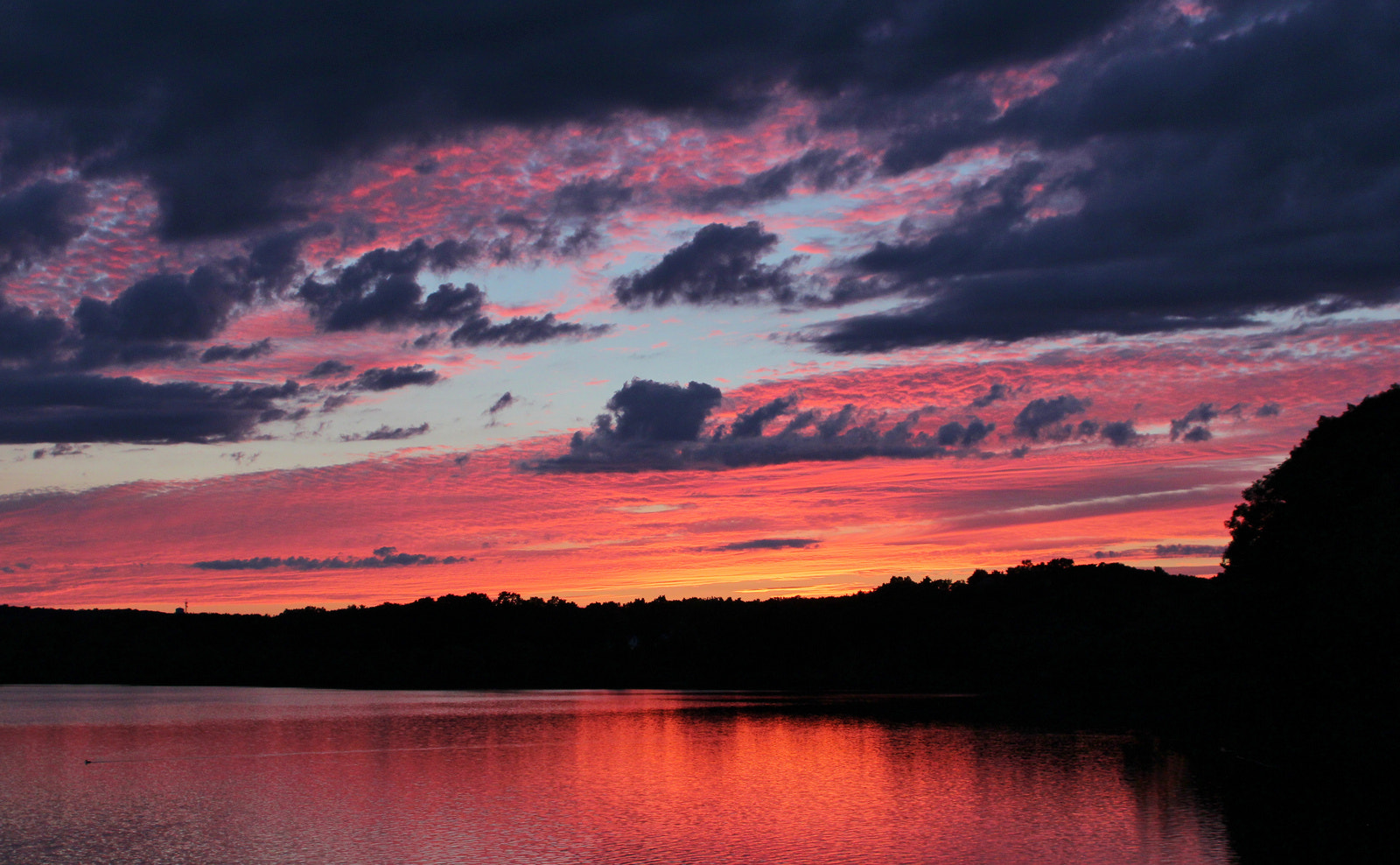 Photograph Horn pond sunset  by Paul Wyman on 500px