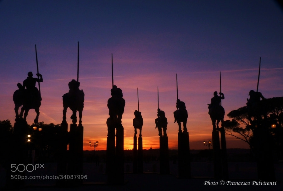 Photograph The Knights of Javier Marin by Pulvirenti Francesco on 500px