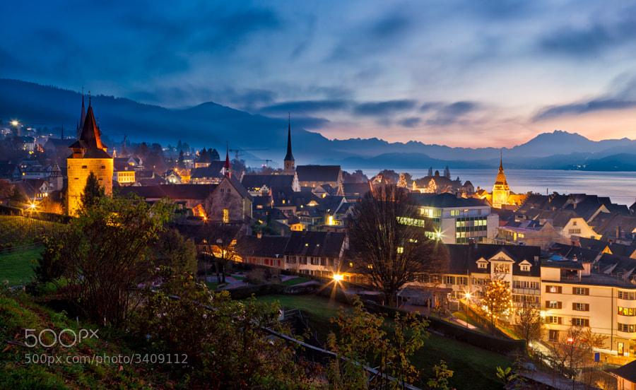 Zug, Switzerland - not an HDR